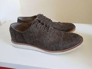 Toms-Uomo-Morbido-calata-in-tweed-stile-Ala-TIP-TG-UK-14-ref8P63-Brown
