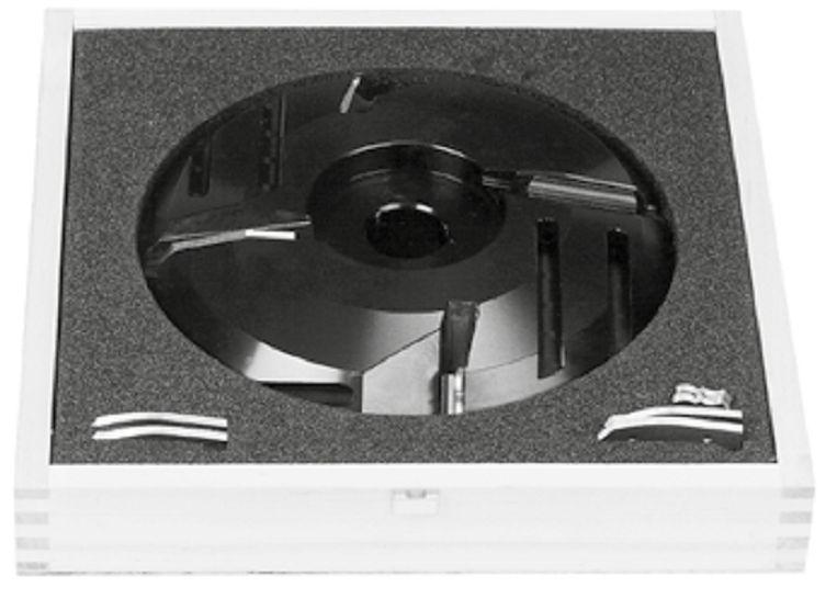 FLURY Abplattfräser HW WPL Multiprofil 200 x 38 x 30mm Profile 1-6 Abplatt