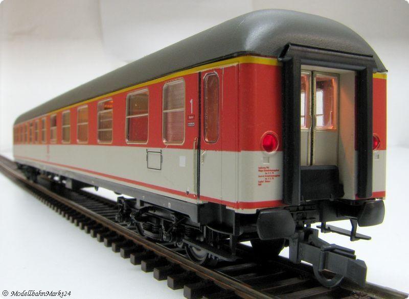 ADE DB Popwagen ABüm 1. 2. Klasse Epoche IV KK beleuchtet