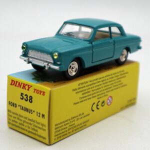 Atlas-1-43-Dinky-Toys-538-Ford-Taunus-12-M-Diecast-models-car