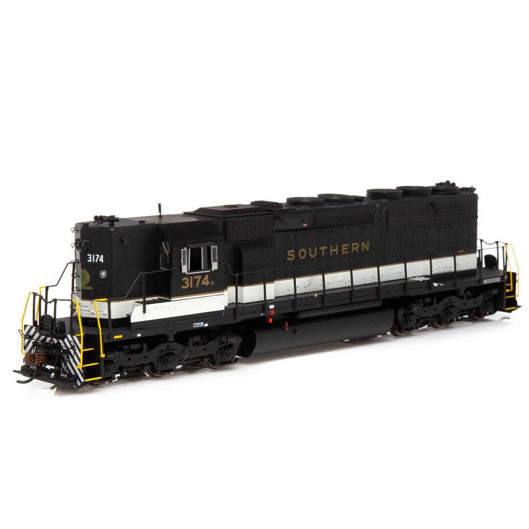 Athearrn ATH88518 SD40 SouNeroBianco Sporco  3174 un treno pronto a correre scala HO