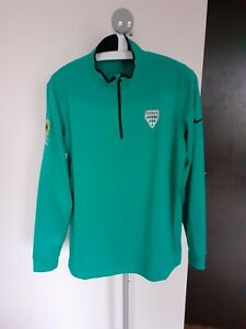 Nike-Oddur-European-2016-Golf-1-2-Zip-Pullover-jacket-top-shirt-L-Large-Iceland