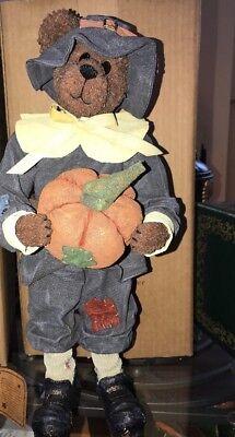 Boyds the Crumpletons Gourdon Q Mayflower #73115 Thanksgiving Pilgram Bär Nib Halten Sie Die Ganze Zeit Fit Spielzeug Boyds
