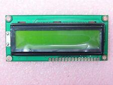 Afficheur LCD jaune réflectif 2x16 C. BACKLIGHT - Driver et contrôleur intégrés