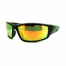 5706a338612 item 1 Mens Futuristic Robot Rectangular Aerodynamic Sport Warp Color  Mirror Sunglasses -Mens Futuristic Robot Rectangular Aerodynamic Sport Warp  Color ...