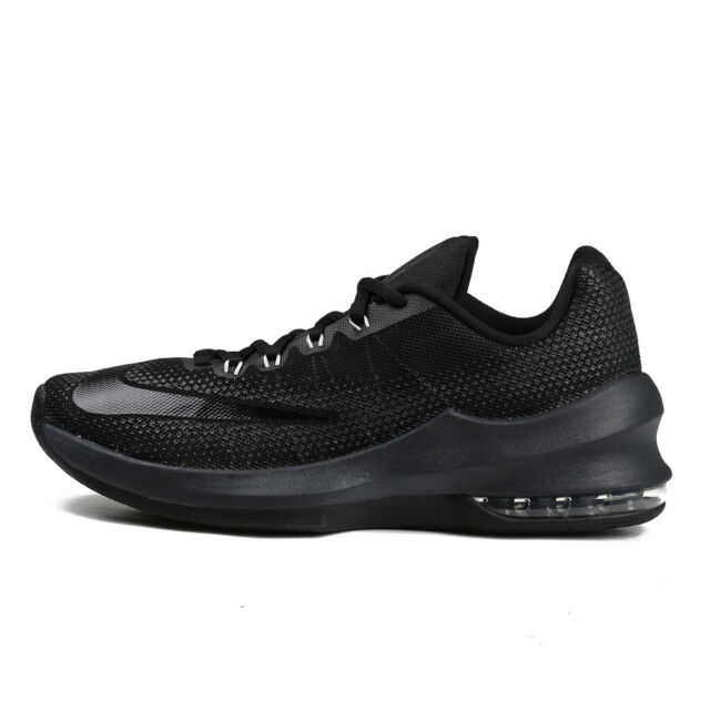 huge selection of 5f86b 8d5a6 Nike Air Max Infuriate Low Mens 852457-001 Black Grey Basketball Shoes Size  11.5