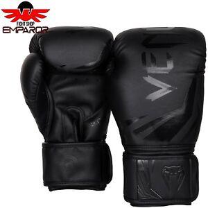 Details zu Venum Challenger 3.0 Boxhandschuhe SchwarzSchwarz Boxen Kickbox MMA Handschuhe