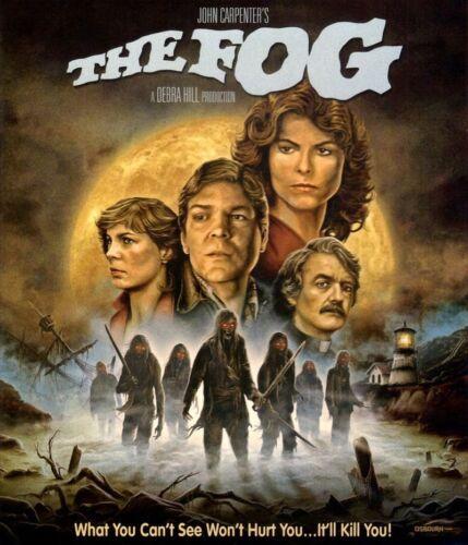 Men/'s Ladies T SHIRT retro cult FILM MOVIE horror The Fog 80s ghost killer 2
