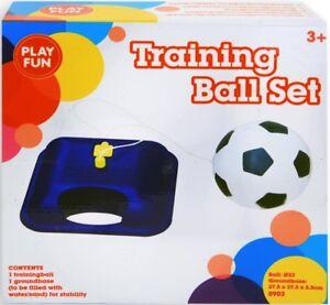 Kinder Fußballtrainer Mit Ball Fußball Training Trainer Balltrainer