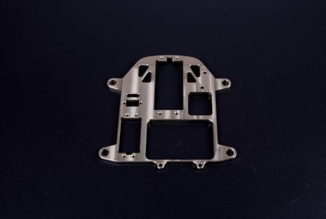 Alloy CNC fix plate of Steering system Titanium for 1/5 HPI BAJA 5B 5T 5SC