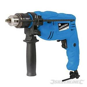 HEAVY-DUTY-SILVERLINE-500W-ELECTRIC-IMPACT-HAMMER-DRILL-DRIVER-3-YEAR-WARRANTY