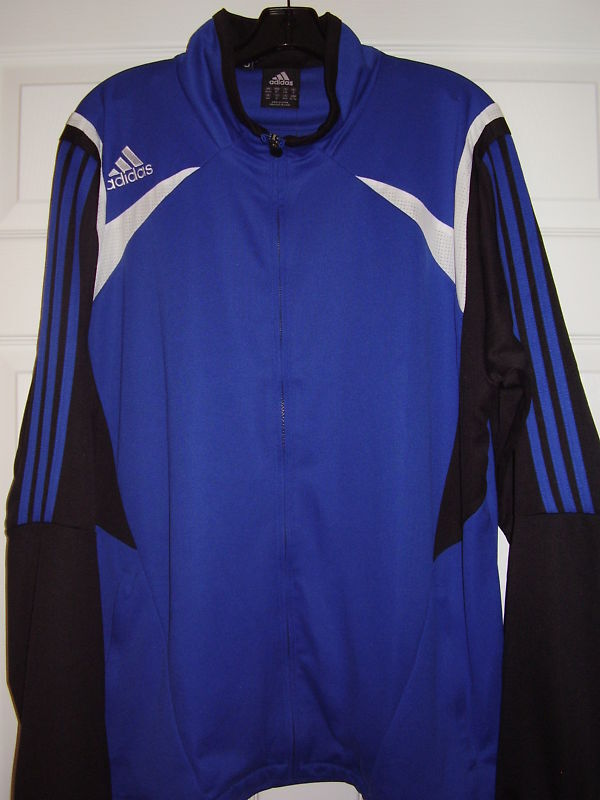 Adidas Para Hombre Calico chaqueta royal wht blk Talla Xl