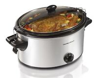 Hamilton Beach 33262a Stay Or Go Slow Cooker, 6-quart , New, Free Shipping on sale