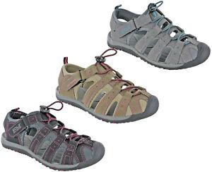 Gola-Mujer-Sandalias-Punta-Cerrada-PLANA-Toggle-CIERRE-Ligero-Zapatos-de-playa