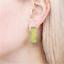 """thumbnail 2 - Vintage ACME Studio """"Z-Z-Z-Z"""" Earrings by Artist Bob Zoell NEW"""
