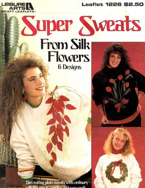 Home Arts & Crafts Crafts Silk Flower Sweats Pattern Leaflet