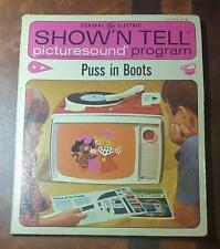 RARE VINTAGE 1964 - PUSS in BOOTS - GENERAL ELECTRIC SHOW'N TELL PICTURESOUND
