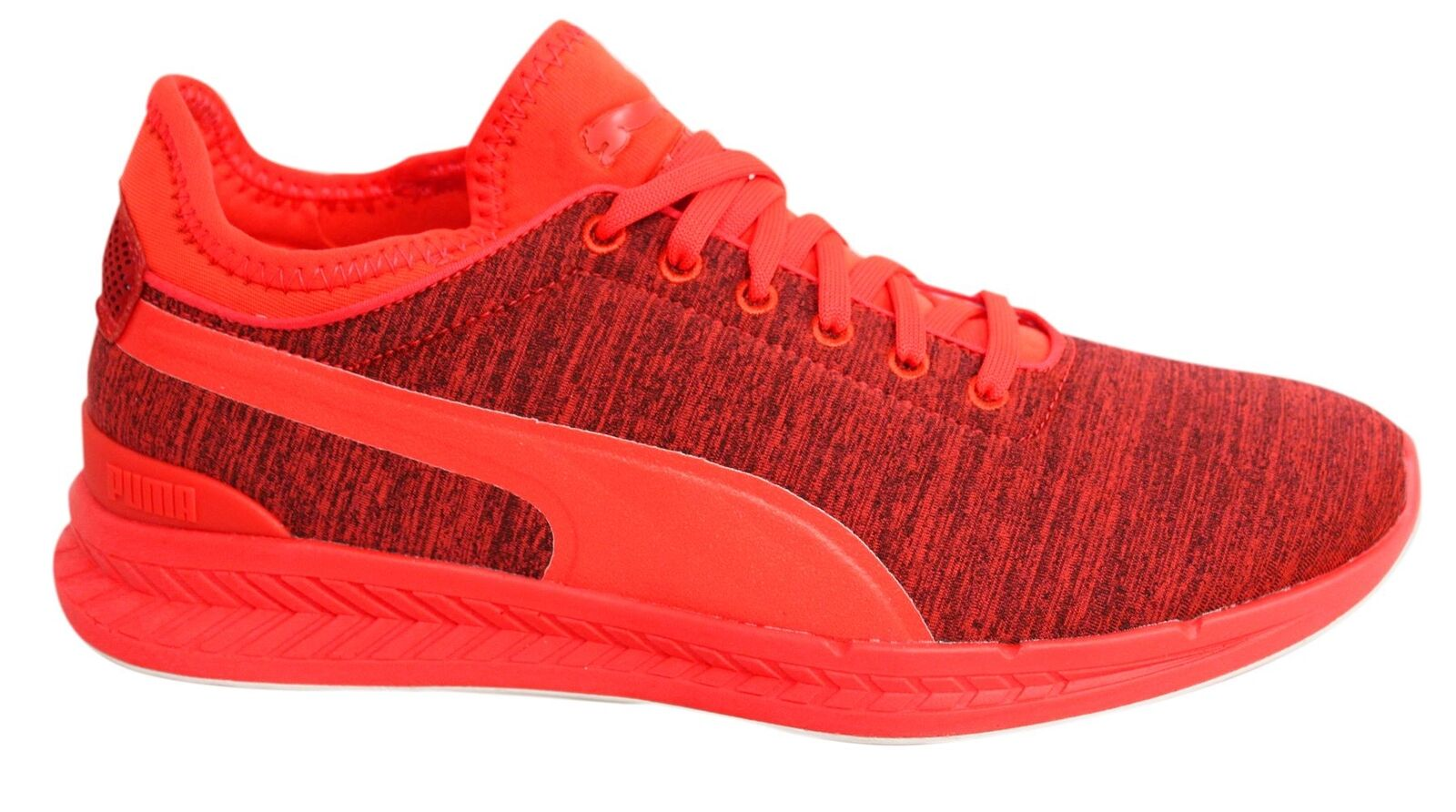 Puma Ignite Sock Jersey Lace Up Red Blast Mens Textile Trainers 362352 01 U98 Great discount