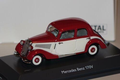 Mercedes 170 V rot-weiß 1:43 Schuco 450247000 neu /& OVP