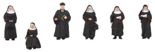 """Faller 150942 Scala H0 Figure /"""" Monache e Pastore /"""" # Nuovo in Confezione"""