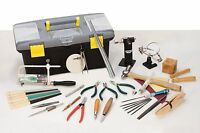 27 Piece Jewelers Hand Tool Set Kit Jewelry Making - Torch Hammer Dapping Pliers