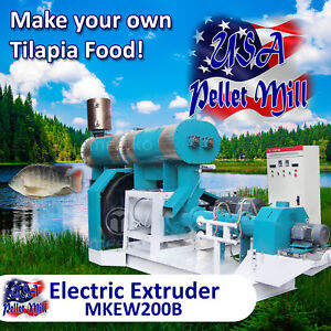 Electric-Extruder-for-Tilapia-Food-MKEW200B-USA