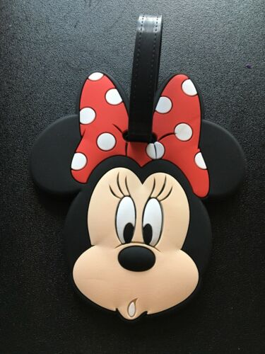 Primark Disney Minnie Mouse Luggage Tag NEW travel