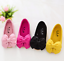 Princess Girls Shoes Bow Flat Dress Party Girl Children Toddler Kid Flower Shoes