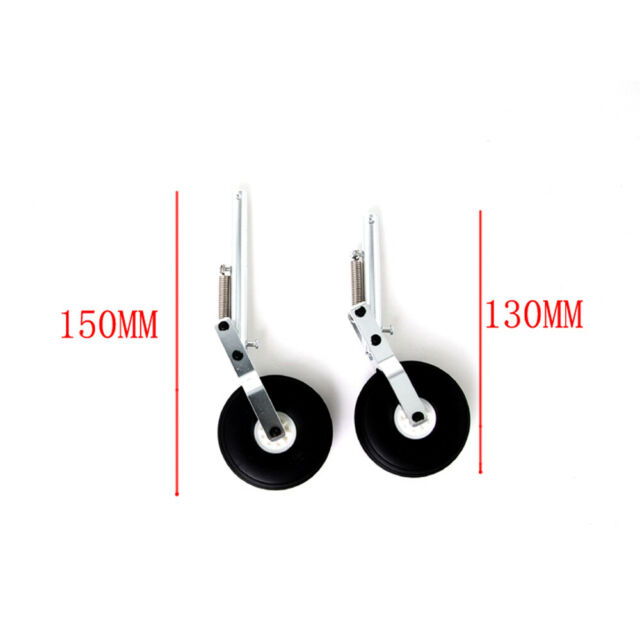 Aluminum Alloy Retractable Landing Gear With Wheels for MTD Talon Flying Wing RC
