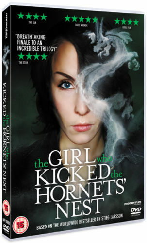 1 of 1 - THE GIRL WHO KICKED THE HORNETS NEST. DVD. USED. VGC .