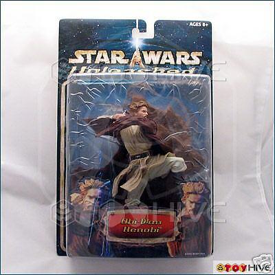 Star Wars Unleashed Obi-Wan Kenobi 1st Edition AOTC Blau card