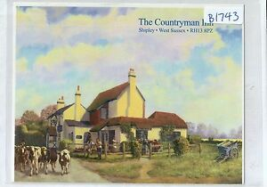 B1743aps-UK-The-Countryman-Inn-Shipley-postcard