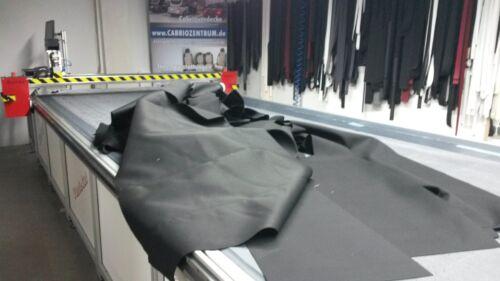 Cabrio copertura tessuto molto conveniente nuovo tessuto nero ad esempio per borse ecc copertura a