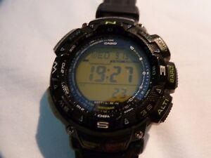 f50aaa56a Image is loading Casio-watch-PROTREK-Triple-Sensor-PRG-240-Men-