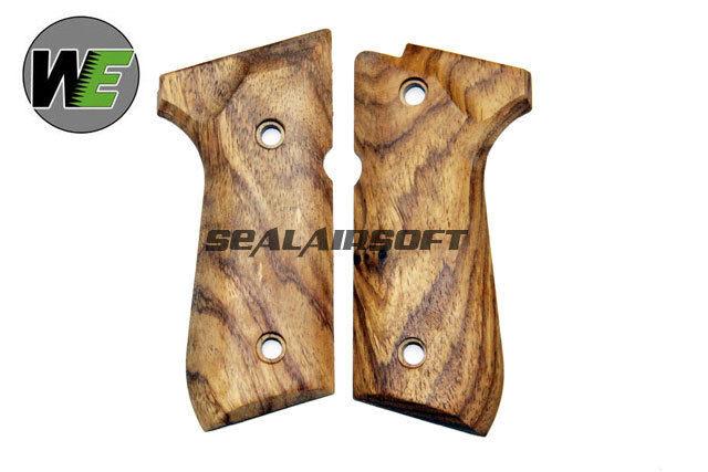 WE Wood Grip per M92 GBB SERIE nuovo sistema WE0543