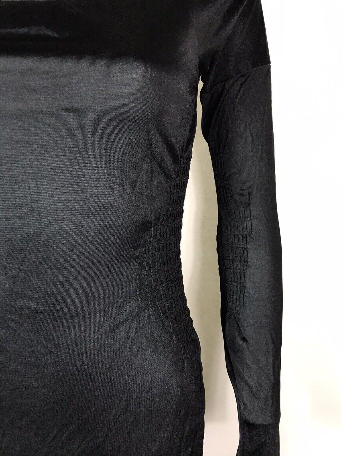 Rare Vtg Gucci Black Cut Out Dress S - image 7