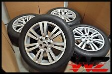 """10-12 20"""" Land Rover Range Rover Silver Wheels Tires OEM 9H42-1007-BAW 72217"""