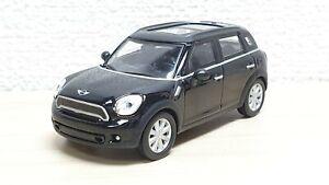 Kyosho-1-64-BMW-MINI-COOPER-S-COUNTRYMAN-BLACK-diecast-car-model