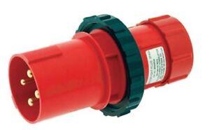 Watertight Male Plug 60A 480VAC 3 phase  ESL 180-05PA E63MP4A