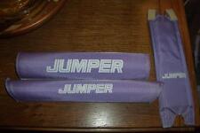 NOS BMX Old School Vintage Lavender Jumper Bike 3 Pad Set