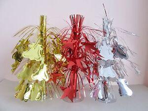 Cascade-Fountain-Table-Centre-Piece-Spray-Decoration-Red-Silver-Gold