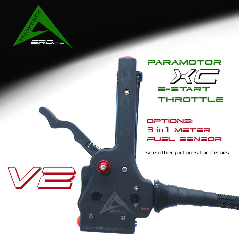 Paramotor, PPG, energiaosso Paragliding, Throssotle, Moster, Polini stile, E estrellat V2