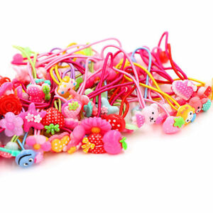 Hot-10Pcs-Baby-Girls-Hair-Band-Ties-Rope-Ring-Elastic-Hairband-Ponytail-Holder
