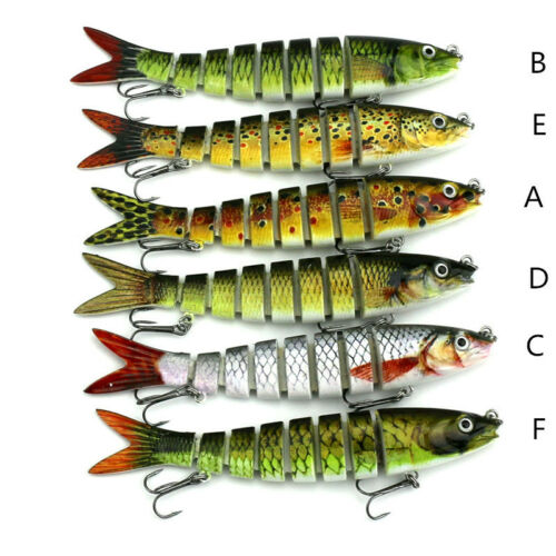 New 8 Segment Koyot Swimbait Lures Crank baits Baits Hard Bait Fishing Lures LN