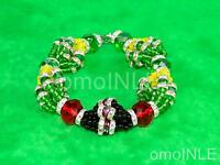 Ilde Santeria Ifa Orisha Bracelet Idde Mazo Yoruba Glass Beads Orula Elewa