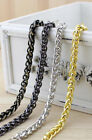 Metal Purse Chain Strap Handle Shoulder Crossbody Bag Handbag Replacement 40-140