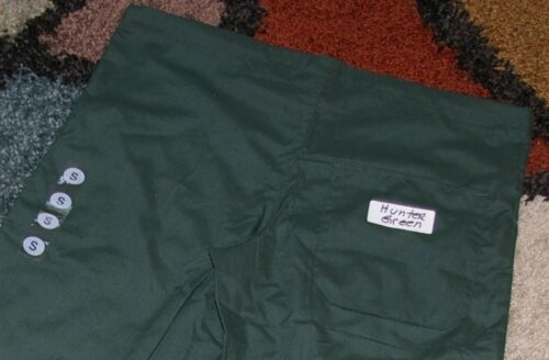 GelScrubs Unisex Drawstring Scrub Pant W// Back Pocket Hunter Style 6558 Small