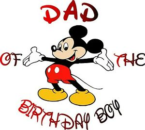 Image Is Loading MOM Of The Birthday Boy Mickey Mouse T