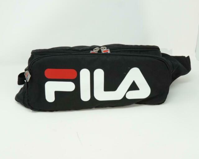 Marsupio Fila Waist Bag Tracolla Logo Black Nero For Sale Online Ebay