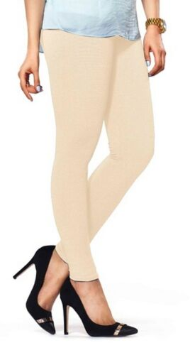 Indian Ankle Length Women Multi Colored Legging Cotton Lycra Stretch Yoga Pant